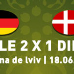 Alemanha confirma favoritismo e elimina a Dinamarca