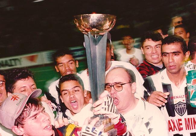 O time que deu várias glórias para o Atlético.