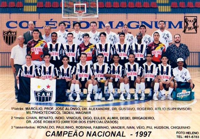 Time campeão Brasileiro de 97.
