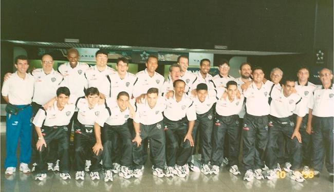 Delegação do Atlético.