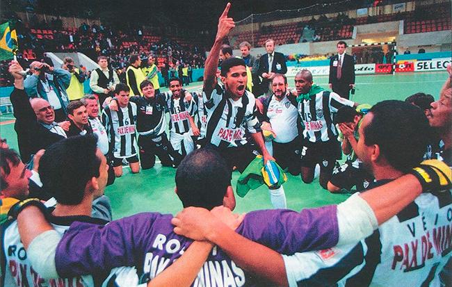 Manoel Tobias era a experiência naquela equipe unida.