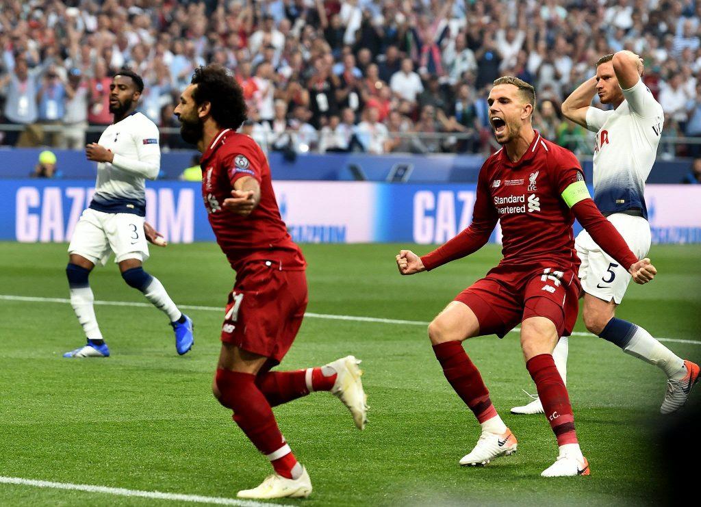 Salah abre o placar na decisão.