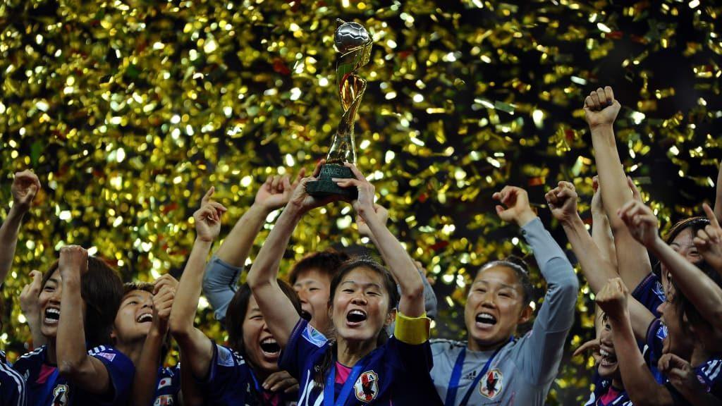 O surpreendente título da seleção japonesa.