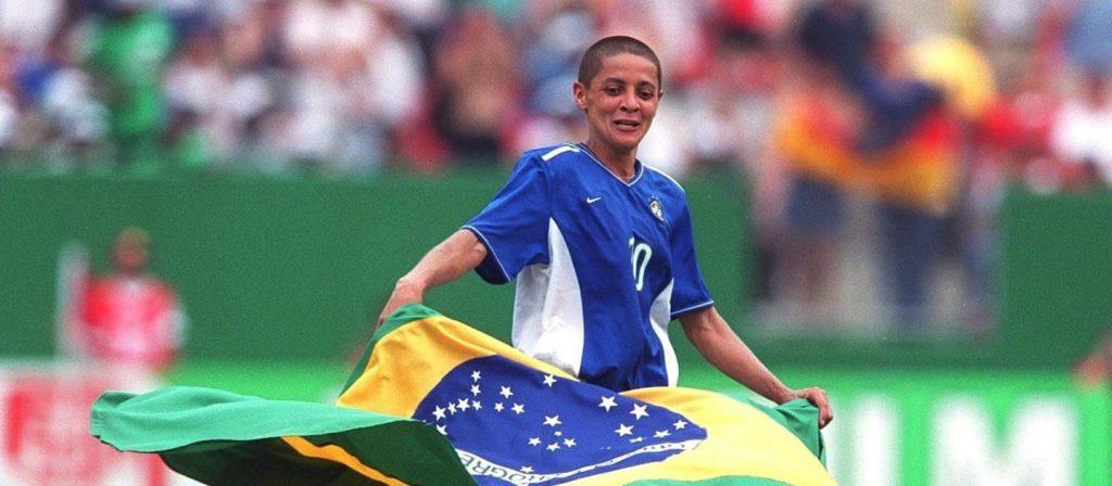 Sissi foi o grande destaque da Copa do Mundo dos EUA.