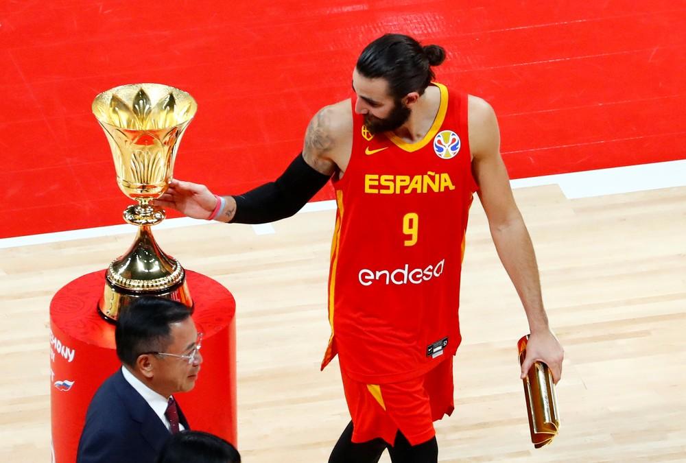 Ricky Rubio é eleito MVP da Copa do Mundo de basquete