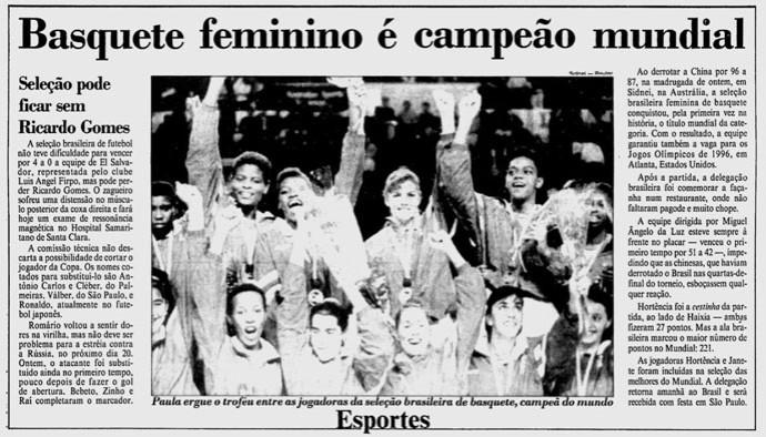 Brasil campeão mundial feminino