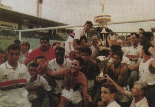 São Paulo campeão da Copinha de 93