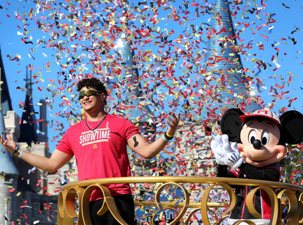 Mahomes na Disney. FOTO: Joe Burbank/Orlando Sentinel