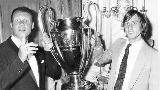 Michels e Cruyff
