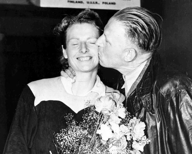 Fanny e seu marido Jan. FOTO: Acervo.