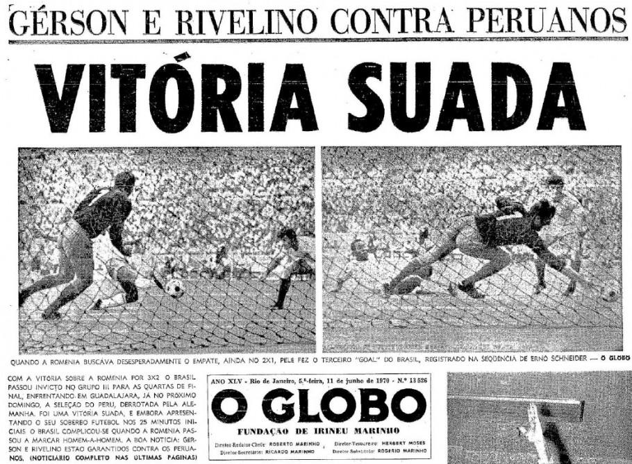 O pós jogo do jornal O Globo ressalta o jogo difícil.