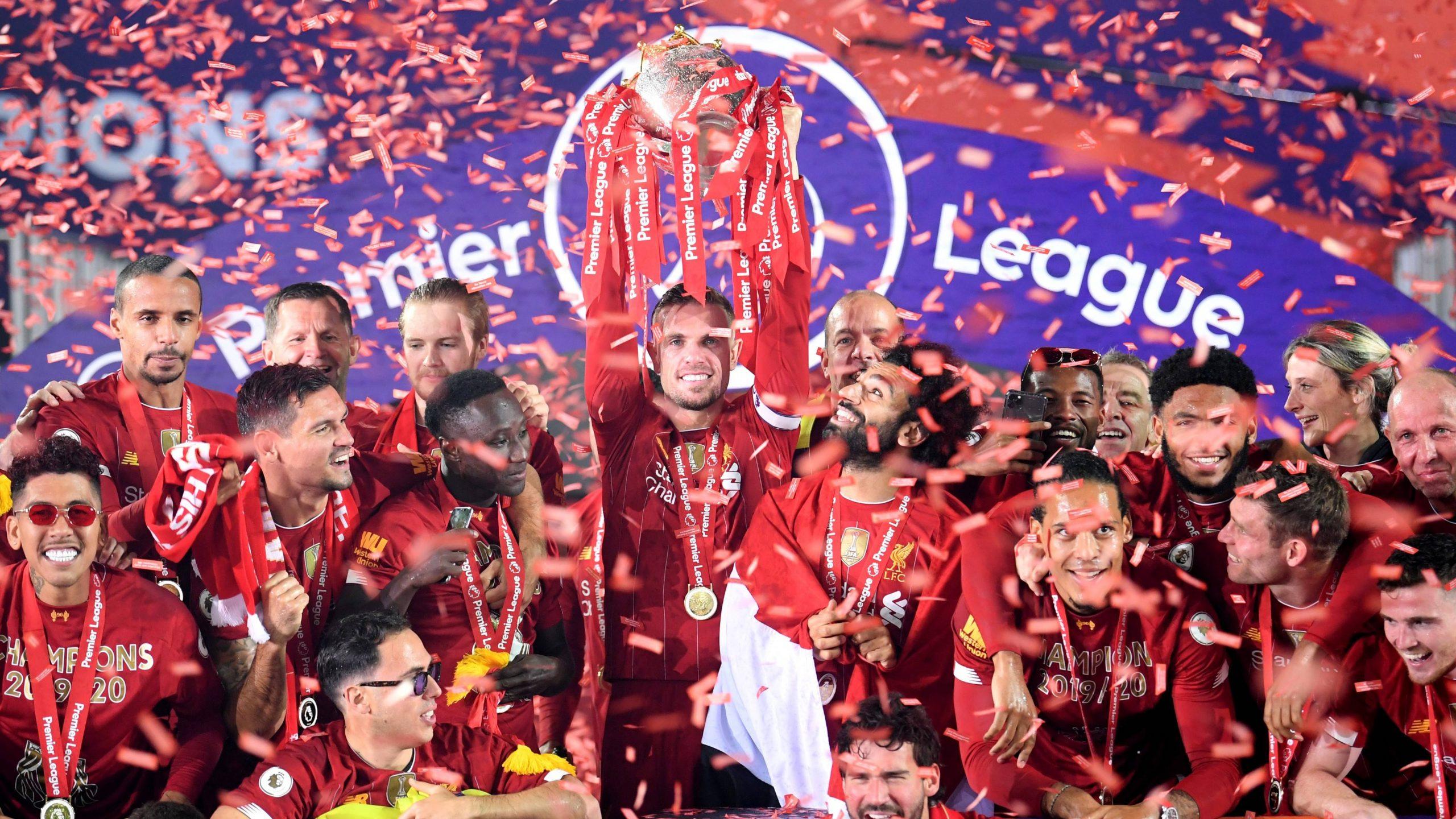 Liverpool campeão da Premier League.