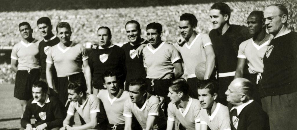 O time uruguaio que jogou a decisão no Maracanã.