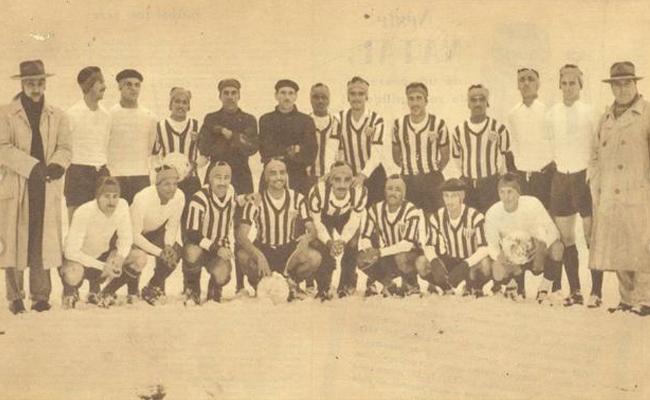 Time do Atlético que venceu o Werder de Bremen.